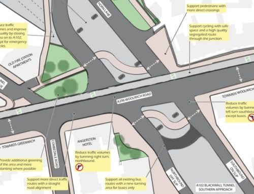 Angerstein Roundabout – Initial Thoughts for Improvements