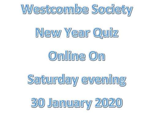 Westcombe Society Online Quiz
