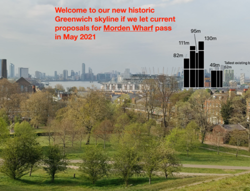 Morden Wharf High Rise proposal