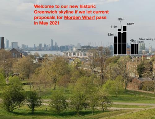 Morden Wharf High Rise proposal