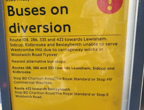 Buses on Diversion